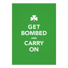 $$$ This is great for          St. Patty's Day Invitation - Get Bombed & Carry On           St. Patty's Day Invitation - Get Bombed & Carry On Yes I can say you are on right site we just collected best shopping store that haveReview          St. Patty's Day Invitation - ...Cleck Hot Deals >>> http://www.zazzle.com/st_pattys_day_invitation_get_bombed_carry_on-161685339841267213?rf=238627982471231924&zbar=1&tc=terrest