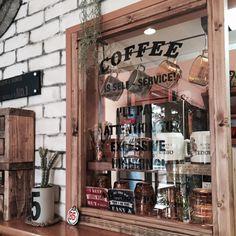 収納のカフェ風アレンジでお家カフェをワンランクアップ! | RoomClip mag | 暮らしとインテリアのwebマガジン
