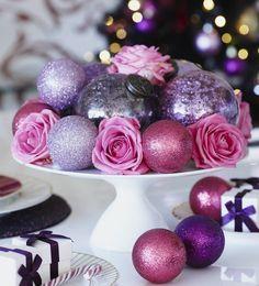 35 Breathtaking Purple Christmas Decorations Ideas – All About Christmas Purple Christmas Decorations, Purple Christmas Tree, Christmas Centerpieces, Christmas Colors, 10 Days Of Christmas, Christmas Balls, Christmas Holidays, Christmas Crafts, Christmas Ornaments