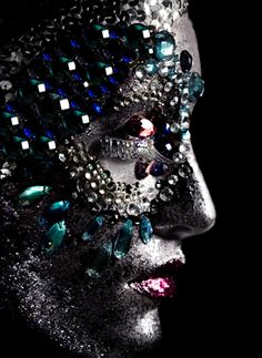 Gem/Jewel Creative Makeup by: