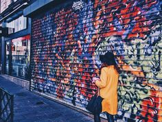 🔶 #paris #france #streetart #colors #nanterre #vscocam