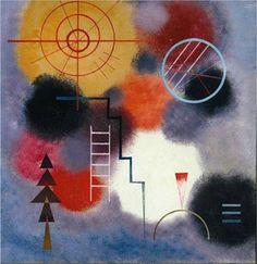 Ladder Form, 1929, Kandinsky Franz Marc, Wassily Kandinsky, Abstract Words, Abstract Art, Joan Miro, Cavalier Bleu, Monet, Antoine Bourdelle, Klimt