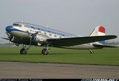On the flightline at the 2007 Autumn Airshow. - Photo taken at Duxford (EGSU) in England, United Kingdom on October Civil Aviation, Aviation Art, Ww2 Aircraft, Military Aircraft, Piedmont Airlines, Douglas Dc3, Mcdonald Douglas, Douglas Aircraft, Wright Brothers