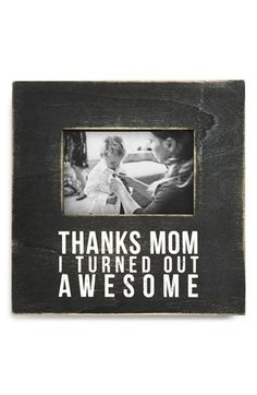 PRIMITIVES BY KATHY 'Thanks Mom' Box Picture Frame (4x6) available at #Nordstrom