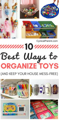 Have the toys taken over your home? Keep your home mess-free with these tips for the best way to organize toys and reclaim your space again! Playroom Organization, Home Organization Hacks, Organizing Your Home, Organizing Ideas, Playroom Ideas, Organized Mom, Getting Organized, Toddler Snacks, Toy Storage