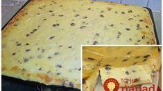 Nemecký tvarohový koláč s hrozienkami: Je neuveriteľne dobrý, ale hlavne vám vydrží dlho vláčny! Cookie Recipes, Cheesecake, Food And Drink, Sweets, Bread, Meals, Cookies, Baking, Breakfast