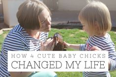 How 4 Cute Baby Chicks Changed My Life | North Phoenix Moms Blog