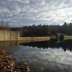 #WonderWatch 2015-168 Holding Back The Sky #SandyLongPhotos #OptOutside #Pennsylvania #PA #sky #skies #clouds #reflection #reflections #mirror #ArtfulNature #GetOutside #SeizeTheDay #UpperDelawareRiverRegion #water #ShoholaPA