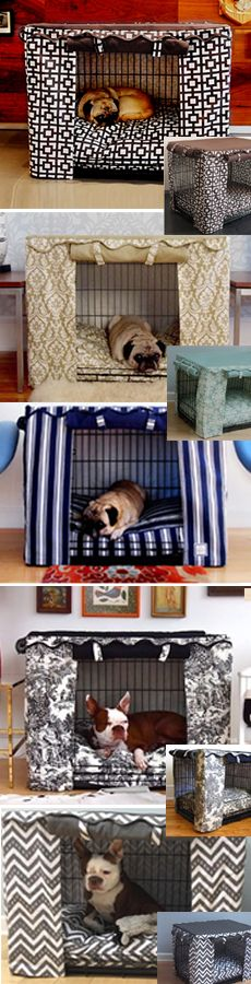Georgia! When we finally get the other Dog Run , I will make her something like this for the living room for her to sleep in at night.