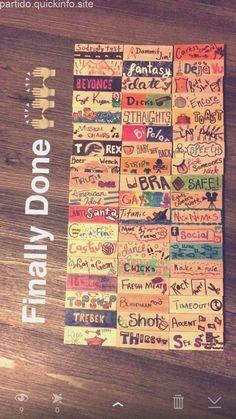 Drunk Jenga with rules… Jenga Drinking Game, Drinking Board Games, Drinking Games For Parties, College Drinking Games, Best Drinking Games, Drinking Games Cards, Drinking Game Rules, Halloween Drinking Games, Jenga Game