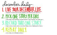 December Daily® 2016 | Let's Begin
