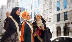 Jóvenes musulmanas modelos de ropa islámica | Galería de Arte Islámico y Fotografía