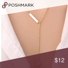 Fashion Gold Chain Fancy Necklace Fashion Gold Chain Fancy Necklace Color: Gold Closure: Hook Chain length: 50cm Extender: 5cm  Please bundle and save. Jewelry Necklaces