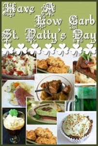 Enjoy St. Patty's Day the low carb way!