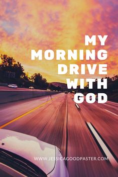 An inspirational Christian story about a mom\'s encounter with God on her drive to work. #christian #faith