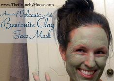 Bentonite Clay Mask : A Homemade Face Mask. I did this homemade face mask tonight and I'm having trouble keeping my hands off my super smooth & soft cheeks! #GlowingSkinMask #HomemadeBlush Easy Homemade Face Masks, Easy Face Masks, Bentonite Clay Face Mask, Charcoal Mask Peel, Under Eye Mask, Pore Mask, Face Mask For Blackheads, Face Skin Care, Face Face