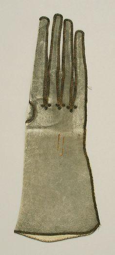 Gloves, 17th century, British