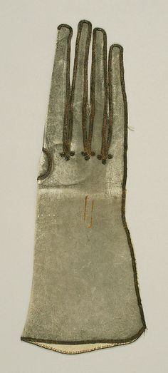 Gloves, 17th century, British