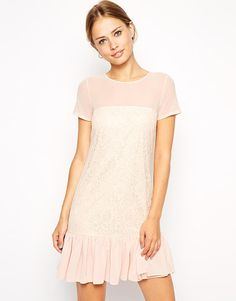 Blush Dress by ASOS Collection