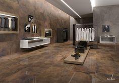 #industrial #tienda #shop #cerámica #ceramic #fliesen #tiles #diseño #Minimalista #Original #cobre #interiorismo #design