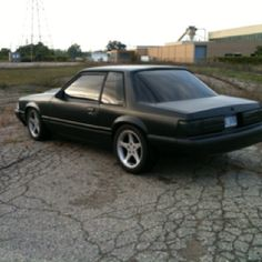 89 mustang coupe Highway ( daddy needs to hurry)