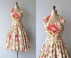 Isle of Eros halter dress 1950s dress David Hart door DearGolden