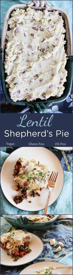 Lentil Shepherd's Pie #plantbased #vegan