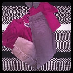 Trendy Free People Gray Ombré Skinny Jeans - 26 These jeans are super cute and with their gray color should go with anything! Free People brand, size 26. There is only light wear besides a small hole on one pocket as pictured. Ombré is very stylish right now so get these before they are gone. 9mar16aeictfb Free People Jeans