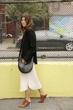 Leave it to designer Maryam Nassir Zadeh to have the ultimate chic work uniform