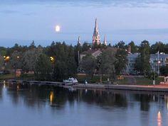 my mother's home town Joensuu