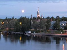 my mother's home town Joensuu