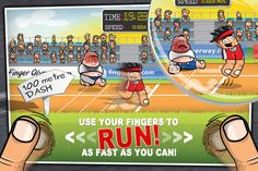 You have to try this game! Soooo much fun.  #FingerOlympics