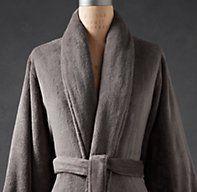 Givted-luxury plush #robe
