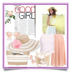 """""""the good girl"""" by catrina-lang on Polyvore featuring Vera Bradley, New Look, Kate Spade, Jessica Simpson and Bling Jewelry"""