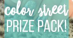 Subscribe to Saunders Says for a chance to win a FREE Color Street prize pack! Prize provided by Saunders Says! Get some free Color Street nail polish strips!