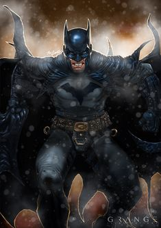 Batman by Grange-Wallis.deviantart.com on @DeviantArt