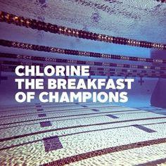 ¡¡Cloro, el desayuno de los campeones!!