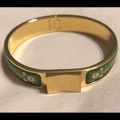 Authentic Hermes Green Enamel Clicclacsale