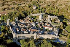 Exclusive Templar, Cathar, Rennes-le-Chateau Tours in the Languedoc: Tour Cathar Castles in the South of France. Knights Hospitaller, Knights Templar, Beaux Villages, Marquise, Medieval Town, Medieval Houses, South Of France, Beautiful Buildings, Beautiful Castles