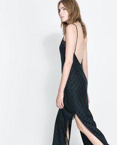 ZARA - WOMAN - LINGERIE-STYLE STUDIO DRESS