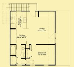 1000 images about garage apartments on pinterest garage for Garage with living quarters one level