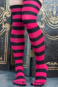 sexy over the knee toe socks $15