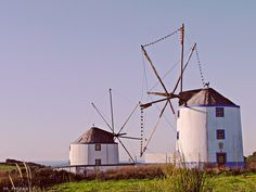 Visit Portugal, Le Moulin, Windmill, Portuguese, The Good Place, Greece, Water Wheels, Scenery, Around The Worlds