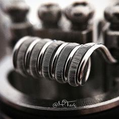 Parallel fused Clapton | Mutation x v3 | .1 Ω | Dual coil | 3mm Dia. | 6/5 wraps Instagram photo taken by Mike - INK361