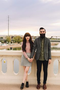 New Darlings - Holiday Looks with Hearts On Fire - Couples Style