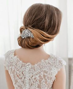 Jaw Dropping Wedding Updo Hairstyle 2015 | Full Dose