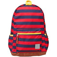 Hanna Andersson Boys There & Backpack, Navy/Red  - Click image twice for more info - See a larger selection of little boys  backpacks at http://kidsbackpackstore.com/product-category/boys/- kids, juniors, back to school, kids fashion ideas, school supplies, backpack, bag , teenagers,  boys, gift ideas