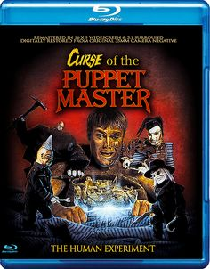 CURSE OF THE PUPPET MASTER BLU-RAY (FULL MOON)