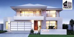 My fav facade rumah korea Narrow Lot House Plans, Dream House Plans, Modern House Plans, Modern House Design, Flat Roof House, Facade House, 4 Bedroom House Designs, Double Story House, Villa