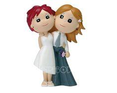 De la nota: Muñecos de novios para el pastel de boda  Leer mas: http://www.hispabodas.com/notas/289-munecos-de-novios-para-el-pastel-de-boda